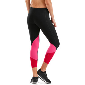 2XU Stride Compression 7/8 Tights Women, pink/sort